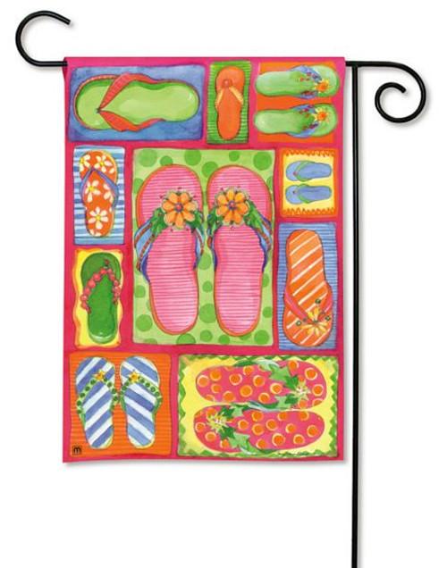 Flip Flops Garden Flag 37146