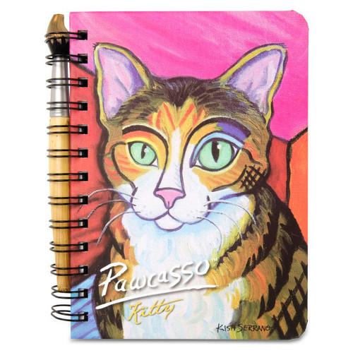 Kitty Pawcasso Cat Journal Notebook 5x7 12085