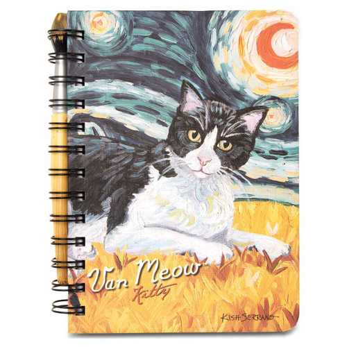 Kitty Van Meow Cat Journal Notebook 5x7 12092