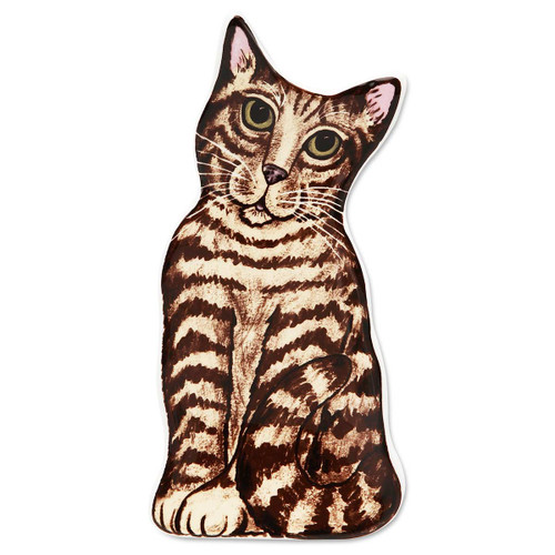 Brown Tabby Cat Spoon Rest 45524