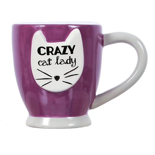Crazy Cat Lady Coffee Tea Mug 40192P
