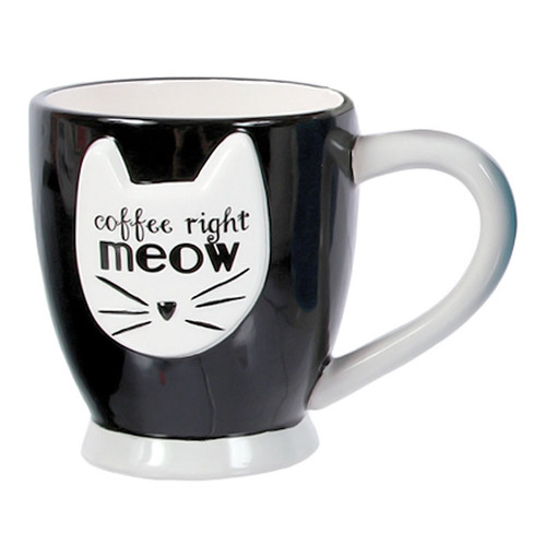 Cat Meow Coffee Tea Mug 40192BK