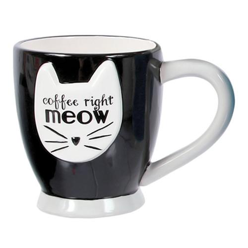 Cat Meow Coffee Tea Mug 40192BK