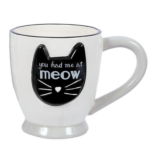 Cat You Had Me Meow Coffee Tea Mug 40192W