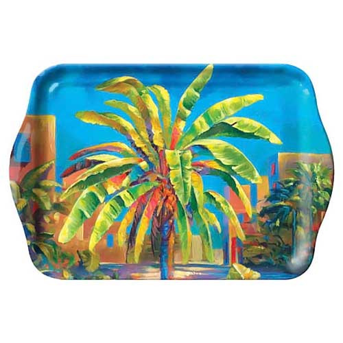 Colorful Palm Tree Melamine Small Tray 39860