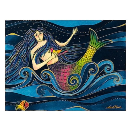 Laurel Burch Friendship Card Sending Oceans of Love FRG17051