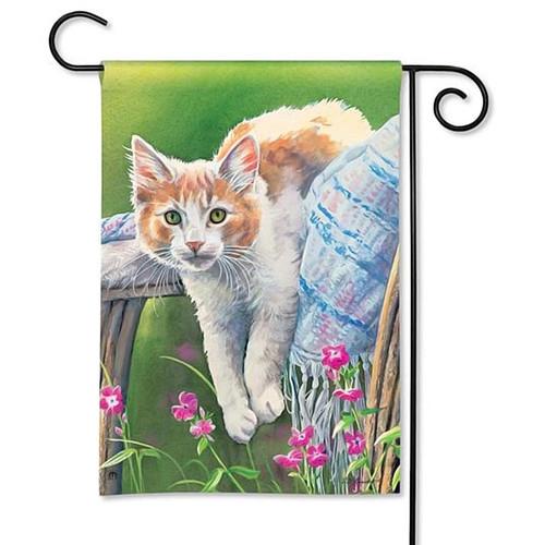 Very Cool Kitty Cat Garden Flag 31124