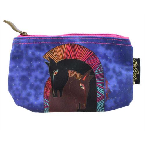 Laurel Burch Embracing Horses 7x4 Cosmetic Bag LB5330A