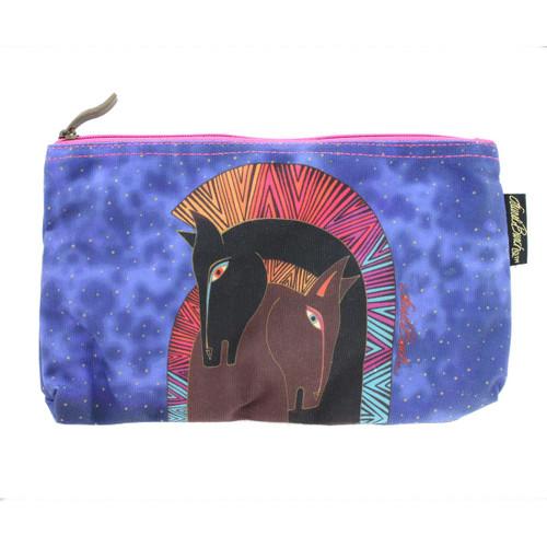 Laurel Burch Embracing Horses 10x6 Cosmetic Bag LB5330C