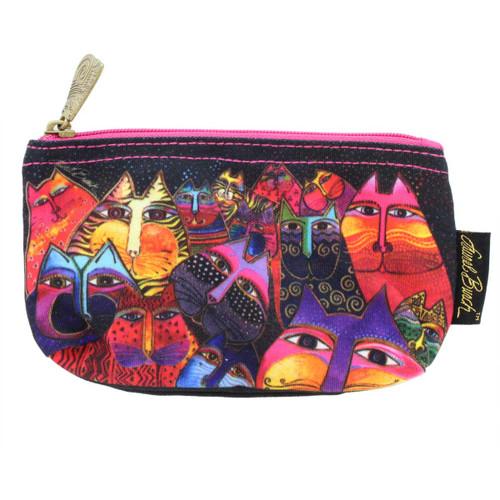 Laurel Burch Fantasticats 7x4 Cosmetic Bag LB5331A