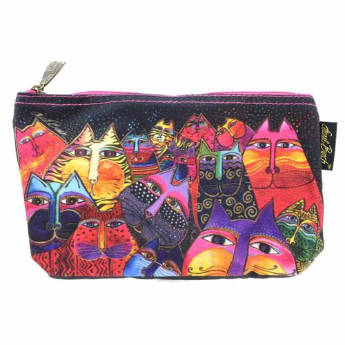 Laurel Burch Fantasticats 10x6 Cosmetic Bag LB5331C