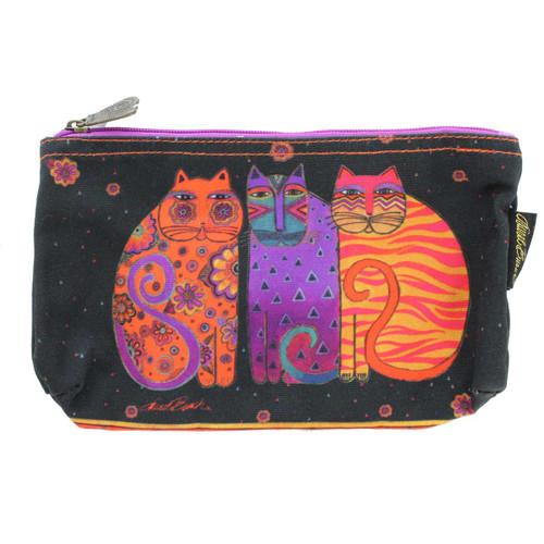 Laurel Burch Feline Friends 10x6 Cosmetic Bag LB5334C