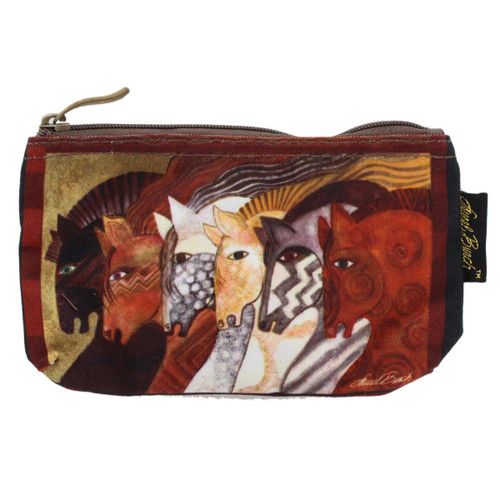 Laurel Burch Moroccan Mares 7x4 Cosmetic Bag LB5333A