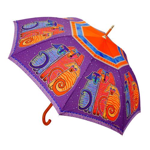 Laurel Burch Stick Umbrella Canine Friends LBU012S