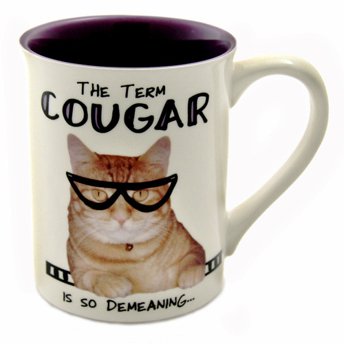 "Cat Mug ""Cougar - Man Eating Tiger"" - 4044278"