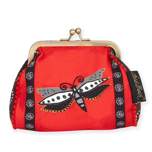 Laurel Burch Coin Purse Red Dragonfly LB5902D