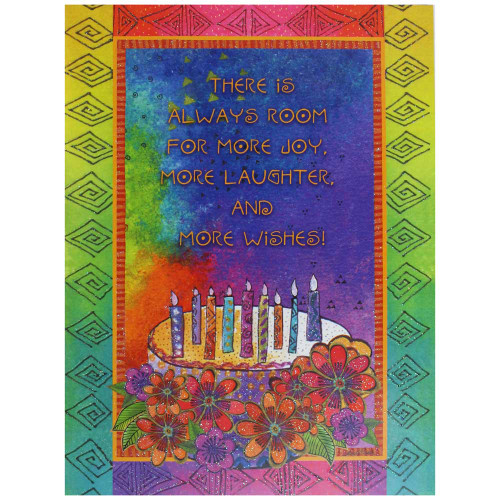 Laurel Burch Birthday Card - Wishing You a Day BDG17625