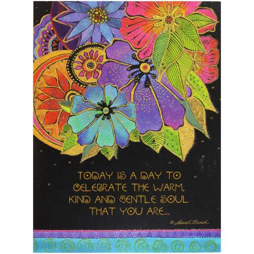 Laurel Burch Birthday Card - Blossoming BDG17628