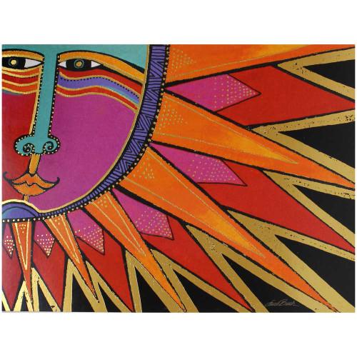 Laurel Burch Birthday Card - Aztec Sun BDG17409