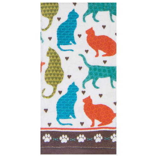 Cats Life Terry Towel R3780