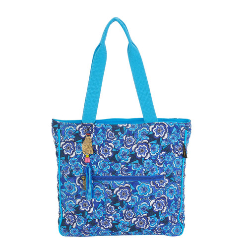 Laurel Burch Got the Blues Shoulder Tote - LB5980