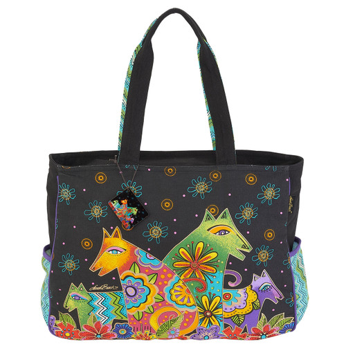 Laurel Burch Canine Clan Oversized Tote - LB6050