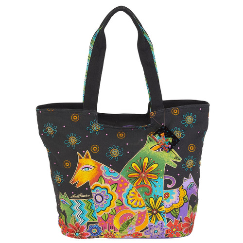 Laurel Burch Canine Clan Large Scoop Tote - LB6051