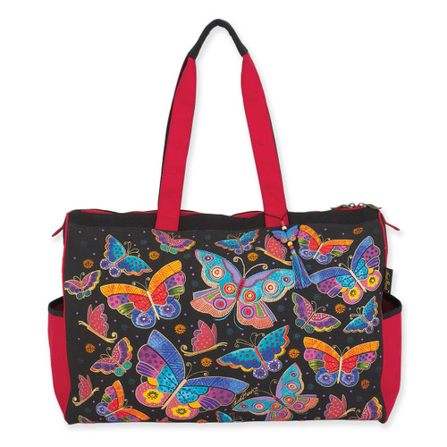 Laurel Burch Butterflies Travel Bag Tote - LB6130