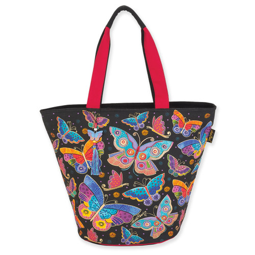 Laurel Burch Butterflies Shoulder Tote - LB6131