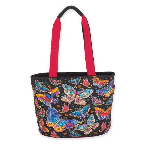 Laurel Burch Butterflies Medium Tote - LB6132