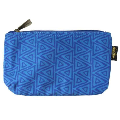 Laurel Burch BLUE Cats 9x5 Cosmetic Bag LB6221B
