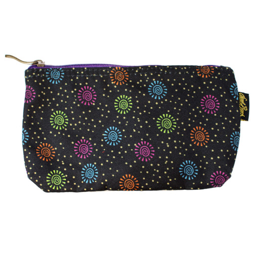 Laurel Burch Dog Papillion 9x5 Cosmetic Bags LB6220B