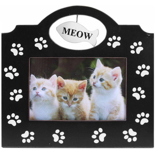 Meow Cat for 4x6 Photo Frame Decor 40305