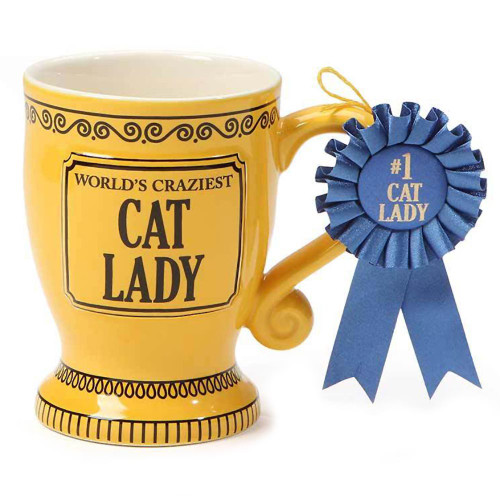 Worlds Craziest Crazy Cat Lady Trophy Mug 6000069
