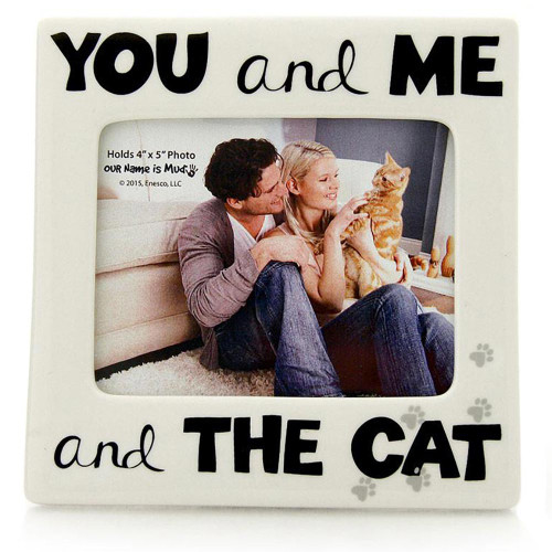 You Me and Cat Photo Frame 4048793