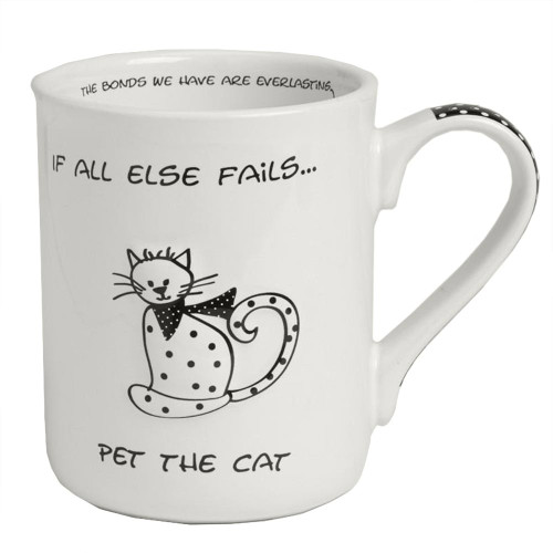 Black And White Cat Lover Mug 4043679