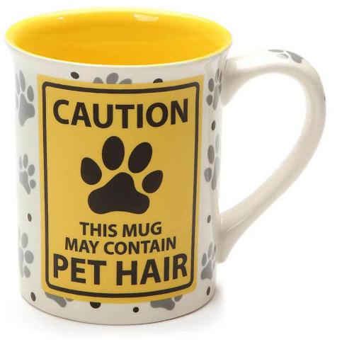 Caution Pet Hair Mug 6001232