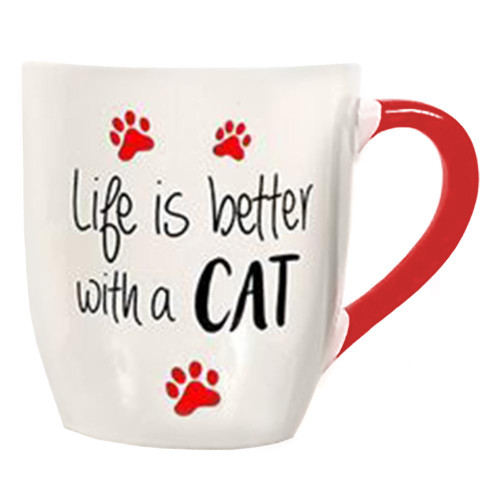 Life is Better with a Cat 24oz Mug - 40003A