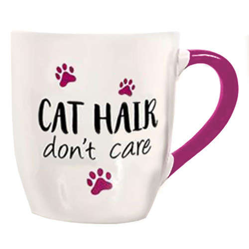 Cat Hair Don't Care Huge Mug 24oz - 40003C