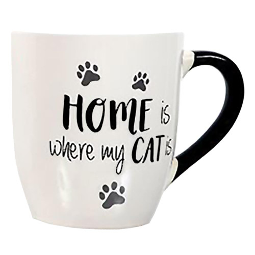 Home is Where My Cat Is Large Mug 24oz - 40003D