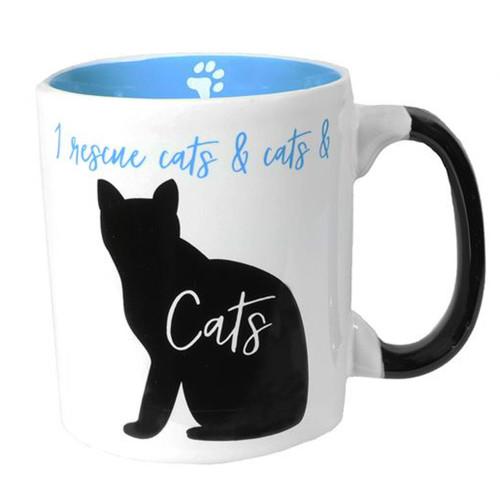 I Rescue Cats - Large 24oz Mug - 10620d