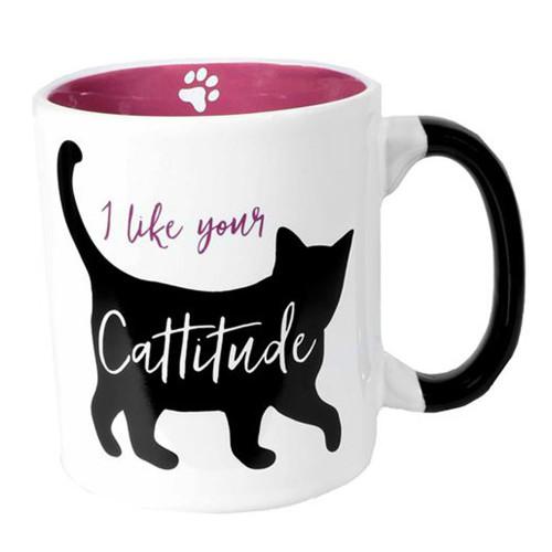 I Like Your Cattitude Cat - Large 24oz Coffee Mug - 10620B