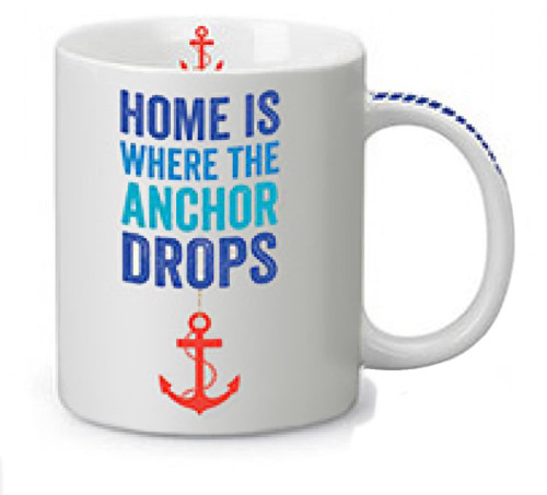 Where the Anchor Drops Coffee Mug