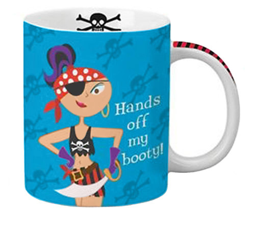 Hands off My Booty Coffee Mug 714-22
