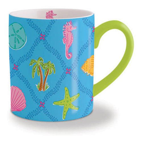 Colorful Seahorse Coffee Mug 713-18