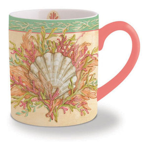Festive Seashell Coffee Mug 713-15