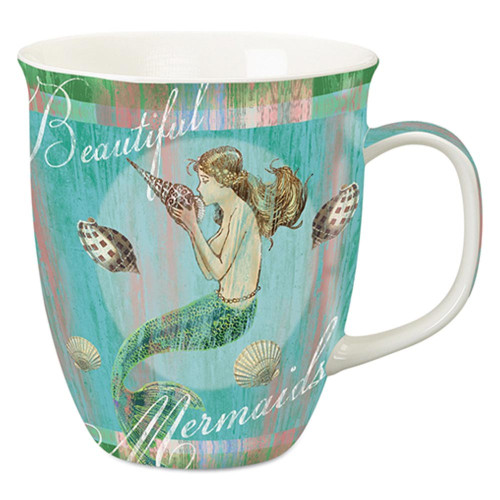 "Mermaid Coffee Mug ""Blue Water"" - 718-20"