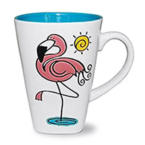 "Flamingo Coffee Mug ""Warm Water"" - 716-04"
