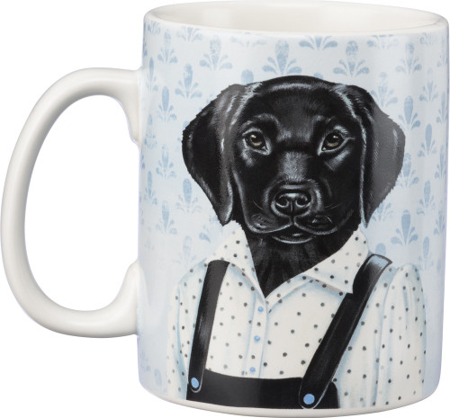 Mug - Black Lab - 20 oz Coffee Mug