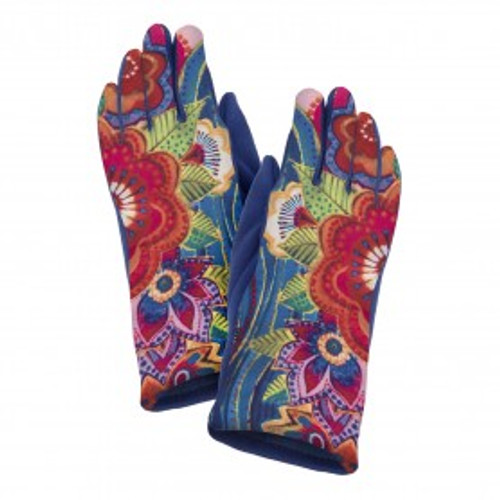 Laurel Burch Mikayla Printed Suede Glove